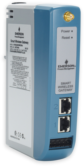 emerson wireless 1410 gateway